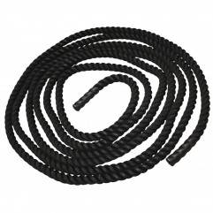 4 m, Battle Rope 25mm, hook