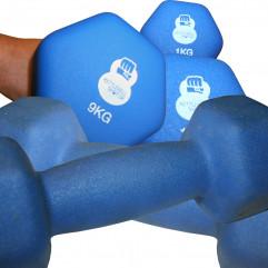 Håndvægt Blå Neopren fra KettlebellShop™