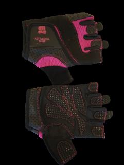 Fitnesshandske svart / rosa