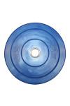 Blå 20 kg Color Bumper Plate fra KettlebellShop™
