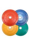 Color Bumper Plate fra KettlebellShop™