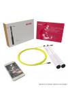 Velites Jump Rope Fire 2.0 Silver, KettlebellShop