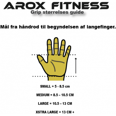 AROXFITNESS 3 HOLE GRIPS
