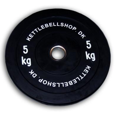 Bumper Plate 5kg fra Kettlebellshop.dk